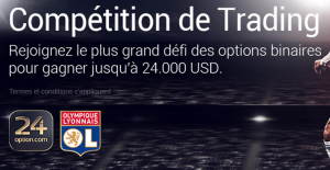 Competition de trading sur 24option